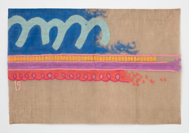 , 'Tre linee con arabesco n. 19,' 2016, Casey Kaplan