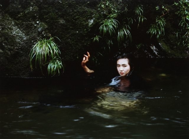 , 'Untitled (Girl in pond),' ca. 1975, James Hyman Gallery