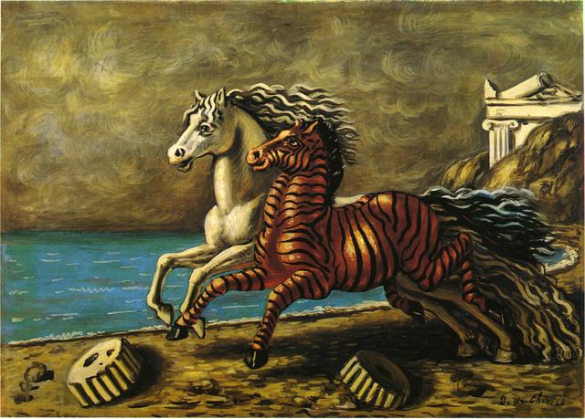 , 'Cavallo e Zebra,' ca. 1929, Galleria Tega