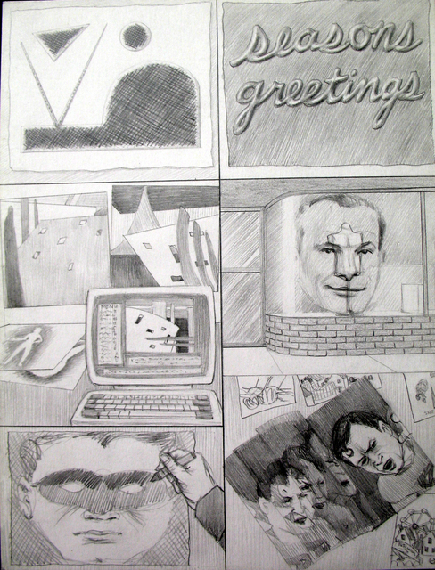 , 'Dream Drawing,' 1995, PRAZ-DELAVALLADE