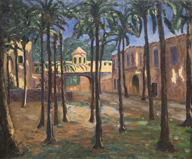 , 'A North African Town,' ca. 1935, Heather James Fine Art