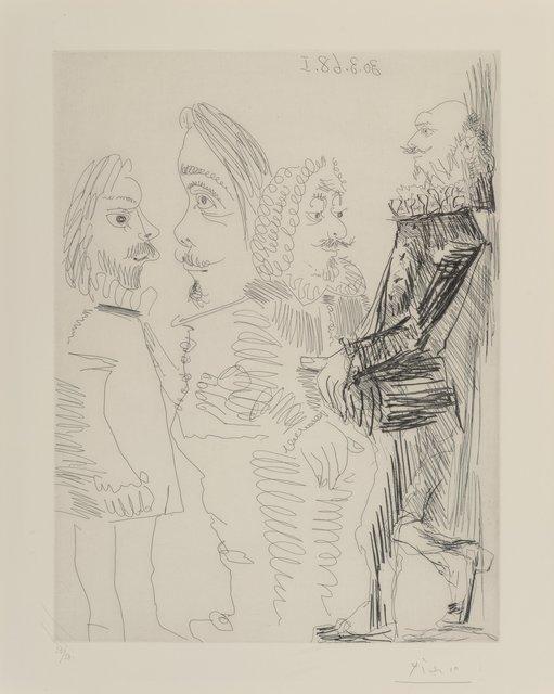 Pablo Picasso, 'Quatre hommes en costume rembranesque, from Séries 347', 1968, Heritage Auctions