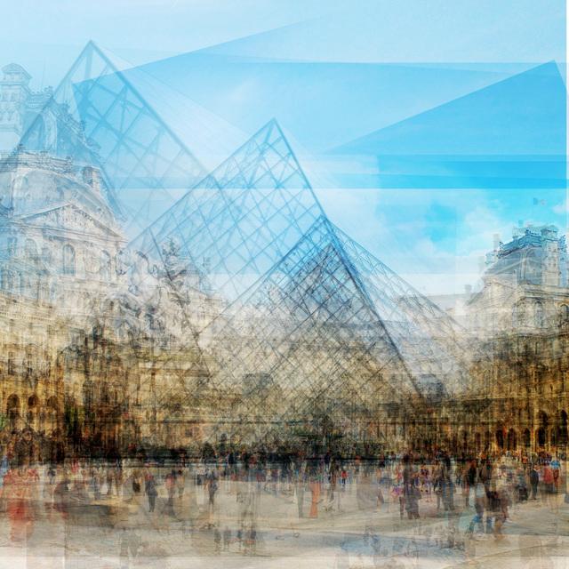 , 'Louvre Pyramide,' 2018, Petroff Gallery