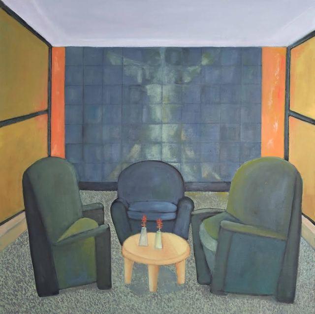 , 'meeting,' 2016, Tabla Rasa Gallery