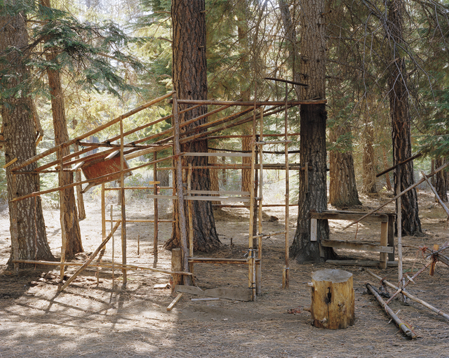, 'Abandoned shack H, mushroom camp near Sisters, Oregon,' 2011, G. Gibson Gallery