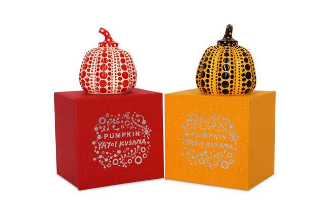 Yayoi Kusama, 'Pumpkins (Set of Two)', 2015, Chiswick Auctions