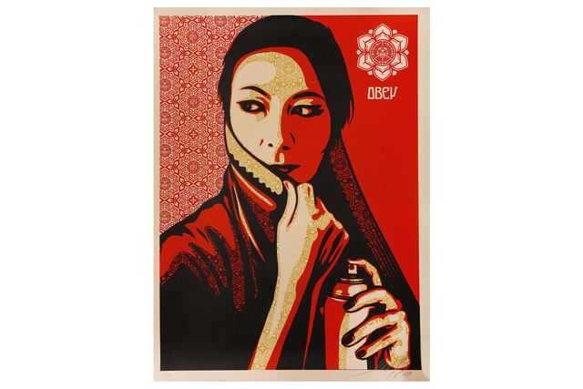 Shepard Fairey, 'Commanda', 2007, Chiswick Auctions