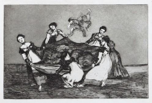 , 'Pesa Mas Que Un Burro Muerto,' ca. 1816, Brook Gallery