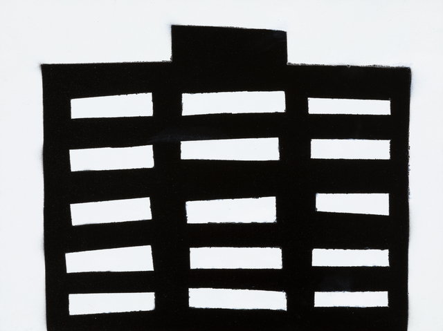 , 'NIGHT BUILDING 12,' 2018, Elizabeth Harris Gallery