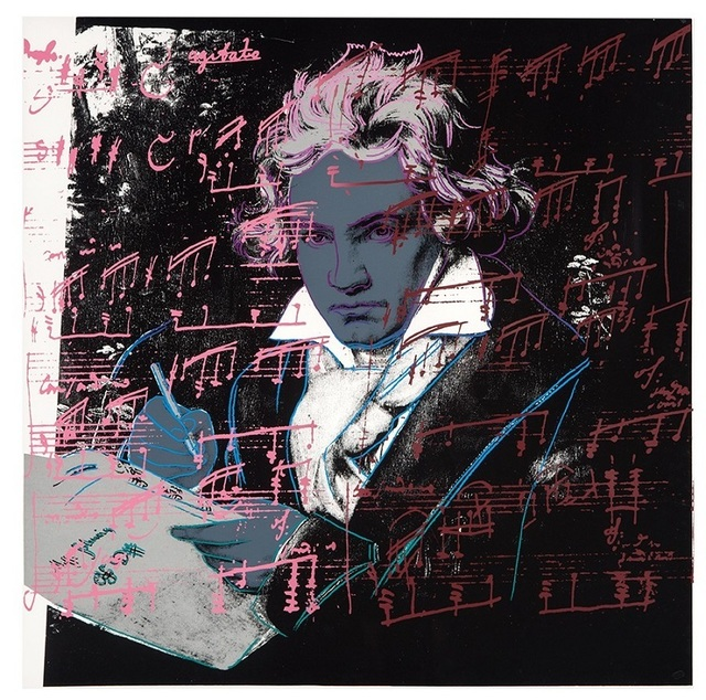 Andy Warhol, 'Beethoven #391', 1987, michael lisi / contemporary art