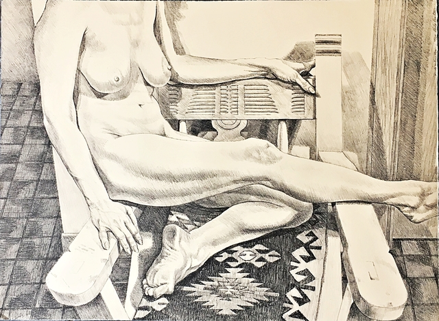 Philip Pearlstein, 'New Mexico Nude ', 1984, Alpha 137 Gallery