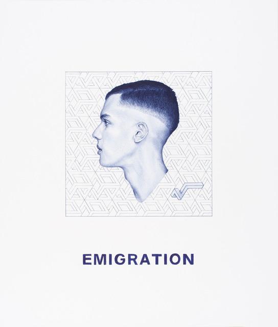 , 'Nel Blu dipinto di Blu (Emigration),' 2015, MLF | MARIE-LAURE FLEISCH