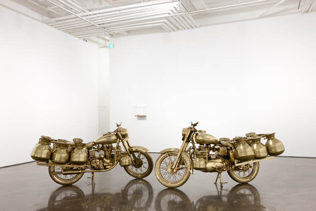, 'Two Mechanized Cows,' 2014, Arario Gallery