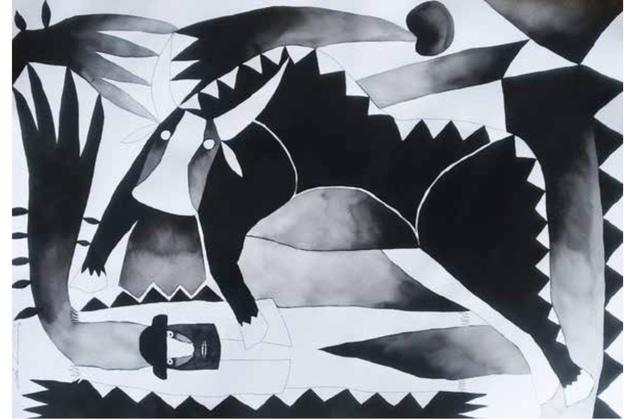 Chu Huiini, 'De la serie Biaani ´Luz´6', 2018, Galeria Oscar Roman
