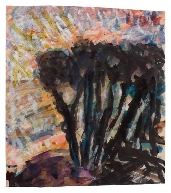 , 'Trees,' undates, New York Studio School