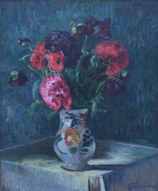 , 'Nature morte au vase de fleurs,' ca. 1900, Waterhouse & Dodd