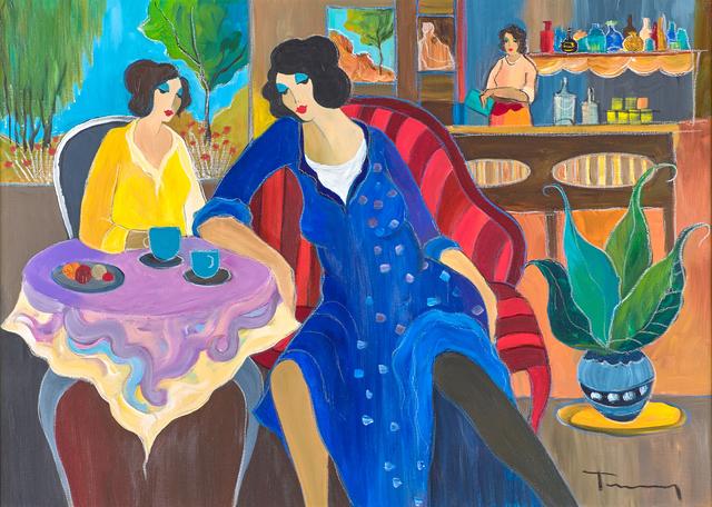 Itzchak Tarkay, 'Untitled (Women in a Cafe)', Rago