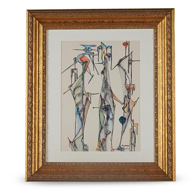 Jose Mijares, 'Untitled Painting, Cuba', 1950s, Rago/Wright