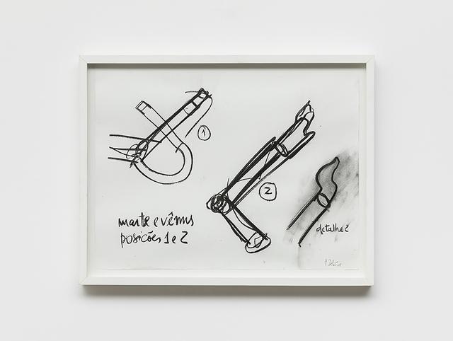 , 'Marte e Vênus (posições 1 e 2),' 2008, Galeria Raquel Arnaud