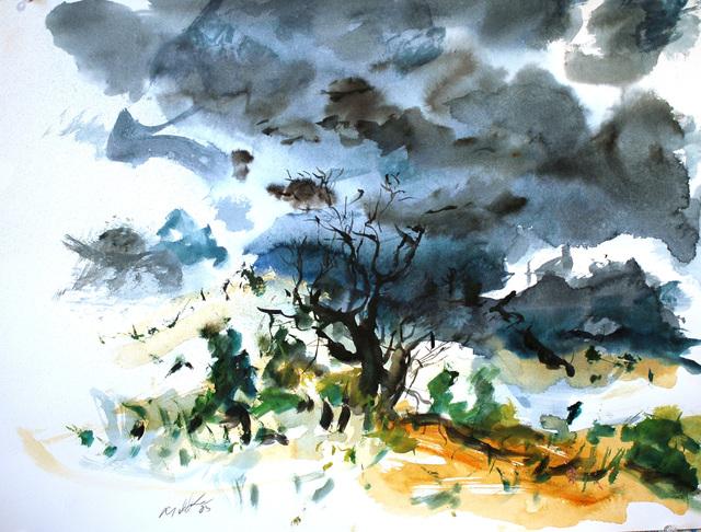 , 'High Desert Storm,' 2005, C. Grimaldis Gallery