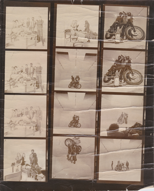 Joe Ray, 'Second Fantasy #2 (Bikers), Market Street Program', 1971, Diane Rosenstein
