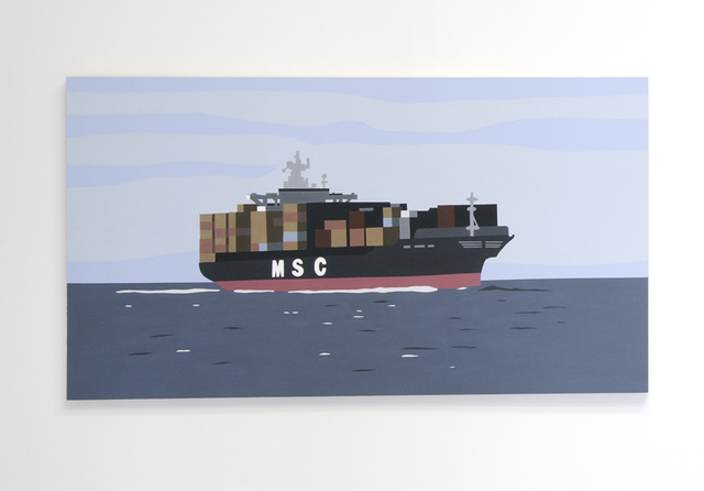 , 'Container Ship,' 2013, Christopher Grimes Gallery