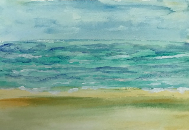 Mary OHare, 'Summer Waves on Long Beach Island', 2019, Solace Studio + Gallery & Contour 19