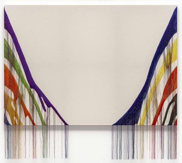 Kyungah Ham, 'Abstract Weave / Morris Louis Delta Kappa 1960 SS02', 2019, Kukje Gallery