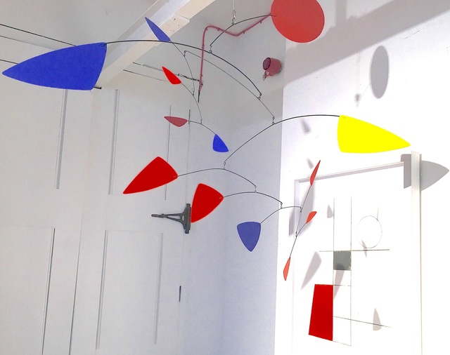 , 'Untitled (Red, yellow. blue hanging mobile),' , Robert Eagle Fine Art