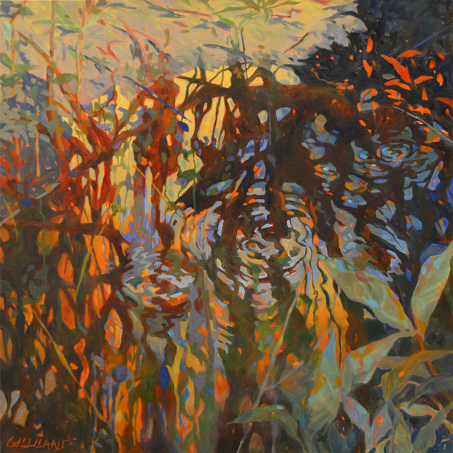 , 'Water Reflection 2,' , The Bonfoey Gallery