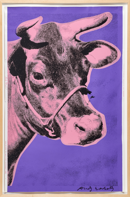 Andy Warhol, 'Cow', 1976, Print, Screenprint on wallpaper, Rago/Wright