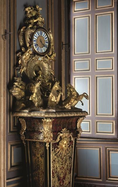 'Horloge au Chariot d'Apollon (Clock with Apollo and his Chariot)', c. 1725, Château de Fontainebleau