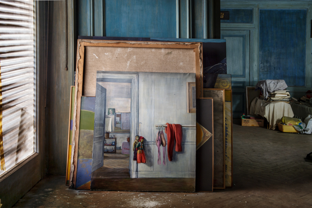 , 'Room within a room,' 2014, Blanca Berlín