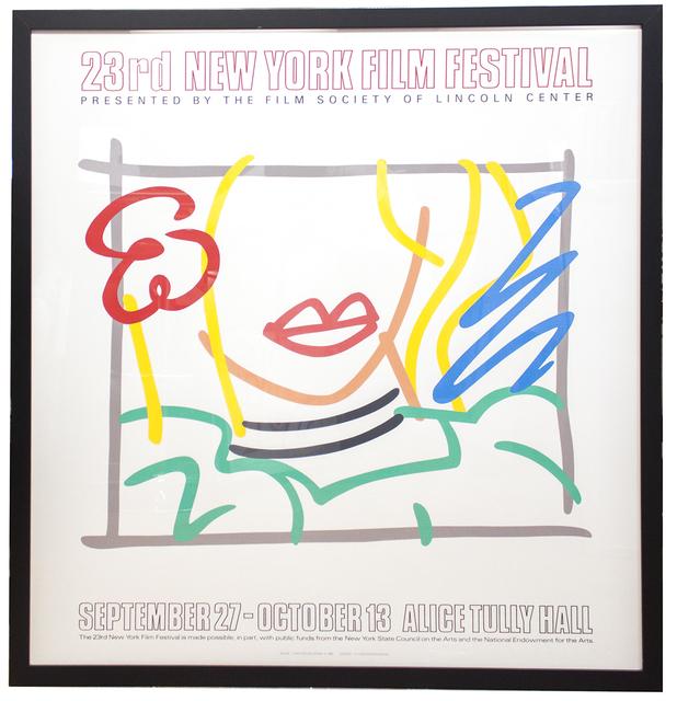Tom Wesselmann, 'Monica, 23rd New York Film Festival', 1985, ArtWise