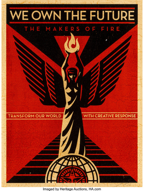 Shepard Fairey, 'We Own the Future', 2013, Heritage Auctions