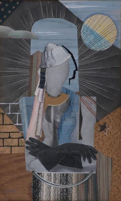 Dobree Valentine, 'Black Gloves', ca. 1930, Liss Llewellyn