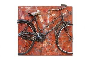 , 'Orange Bike,' , Galleria Ca' d'Oro
