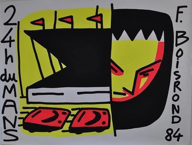 , '24h DU MANS ,' 1984, Galleria Alfieri