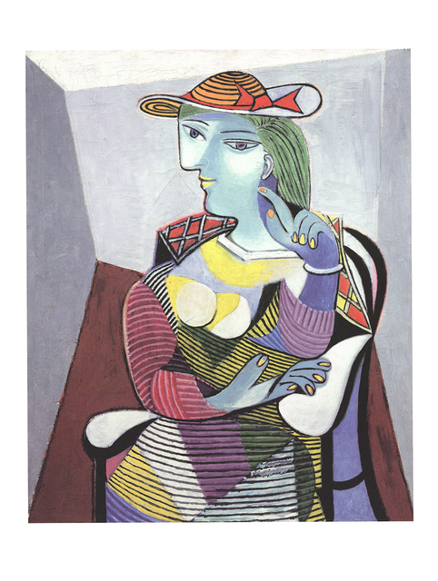 Pablo Picasso, 'Portrait of Marie Therese', 2017, Posters, Offset Lithograph, ArtWise