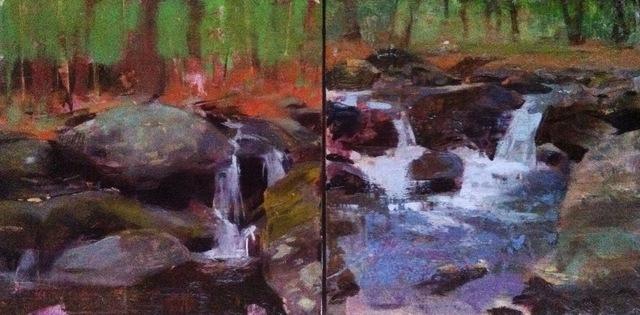 , 'Brook Diptych,' 2015, Somerville Manning Gallery