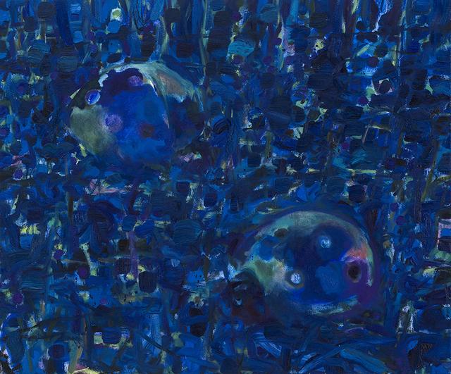 , 'Bleu Nuit,' 2014, Joyce Yahouda Gallery