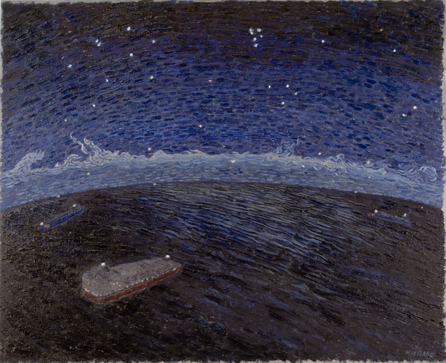 , 'Ships Beneath the Night Sky,' 2017, K. Imperial Fine Art