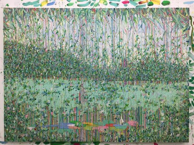 , 'Geometry objects with landscape 2015-2,' 2015, Boers-Li Gallery