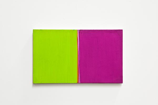 , 'Visione laterale  #11 (rosso magenta e verde chiaro) ,' 2007, OTTO ZOO