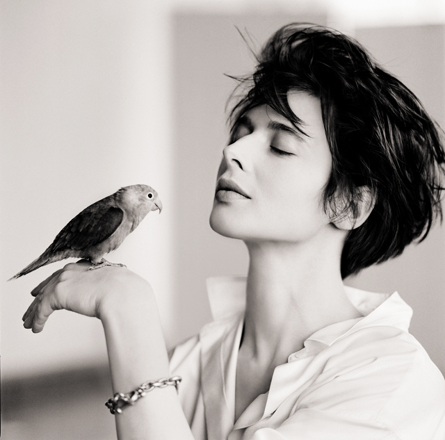 , 'Isabella Rossellini (Bird),' 1988, CAMERA WORK
