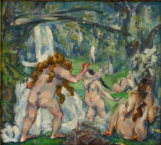 , 'Three Bathers,' c. 1875, Royal Academy of Arts