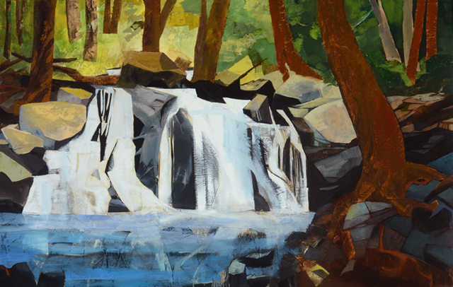 , 'First Falls, Colorado, Seen from Hanging Lake Trail ,' 2016, Visions West Contemporary