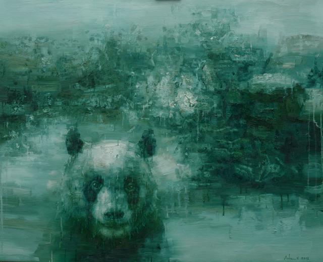 , 'Shan Shui with Panda 1804,' 2018, Nanda\Hobbs
