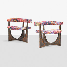 Rare pair of armchairs, New Hope, PA
