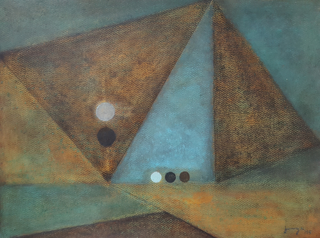 , 'Geometría,' 2015, Aldama Fine Art